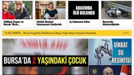 Bursa Haberleri Bursa Haber Portalı'nda Yayınlanıyor